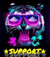 Miami Tiger_Support